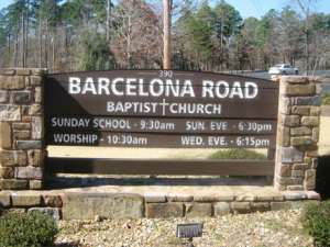 Barcelona Road Baptist Church, Hot Springs Village, Arkansas